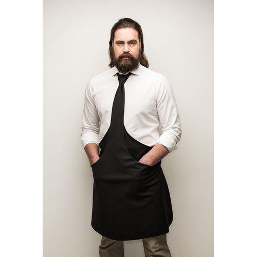 Tie & Apron Stropdas Schort Chef Zwart