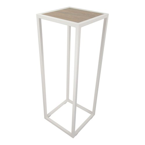 Spinder Design Diva Pilar 40x40x110 - White/Oak