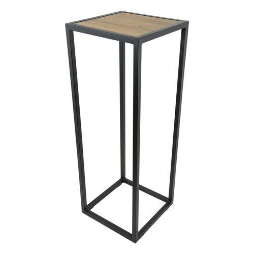 Spinder Design Diva Pilar 40x40x110 - Black/Oak