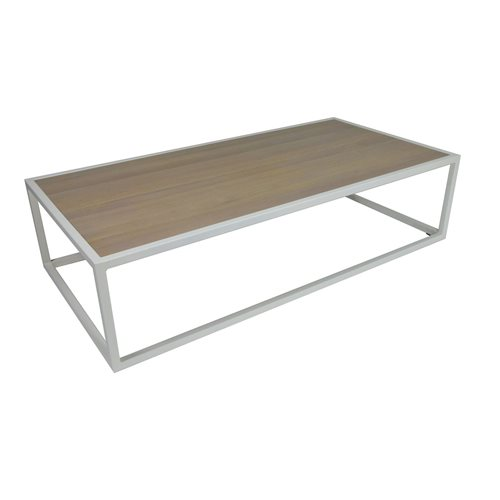 Spinder Design Diva Coffee Table 140x70x35 - White/Oak