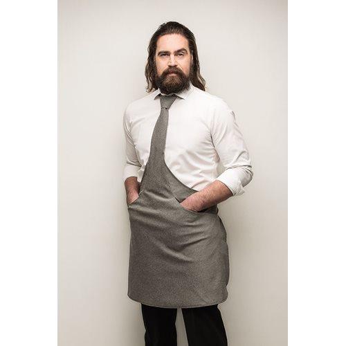 Tie&Apron Chef Grey