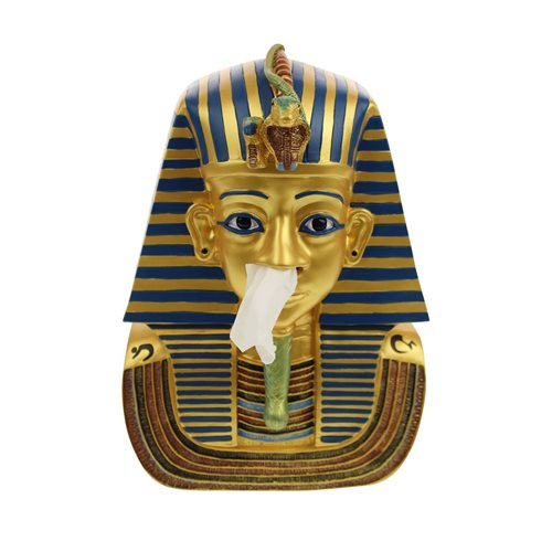 Rotary Hero King Tut Tissue box Holder - Deluxe