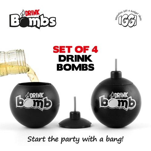 IGGI Drink Bombs - 4er Set