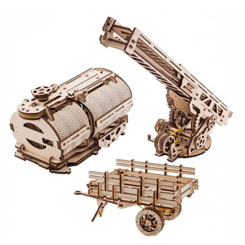 Ugears Wooden Model Kit - Set of Additions for Truck UGM-11