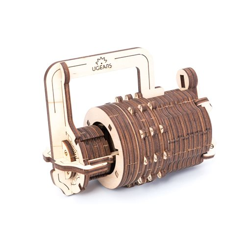 Ugears Wooden Model Kit - Combination Lock