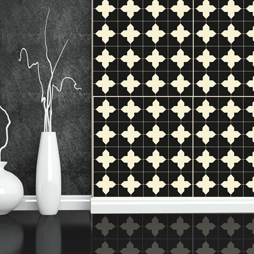 Walplus Wall Mural Decoration Sticker - Crosses Pattern 4 sheets