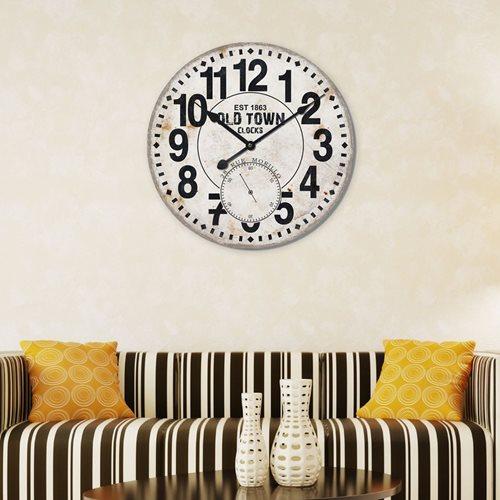 Walplus Wall Clock Vintage MDF - 60 cm