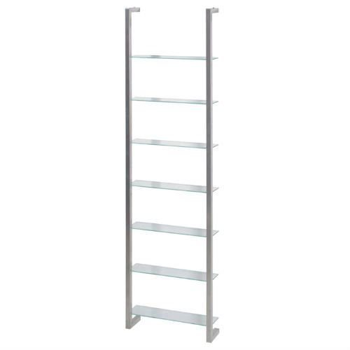Spinder Design Cubic Wall rack with 7 Shelves - Nickel