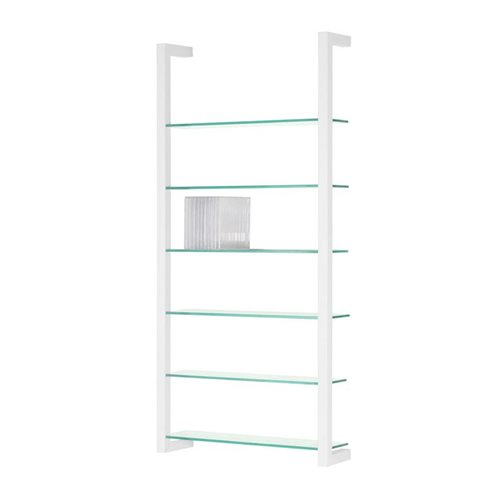 Spinder Design Cubic Wall rack with 6 Shelves - White