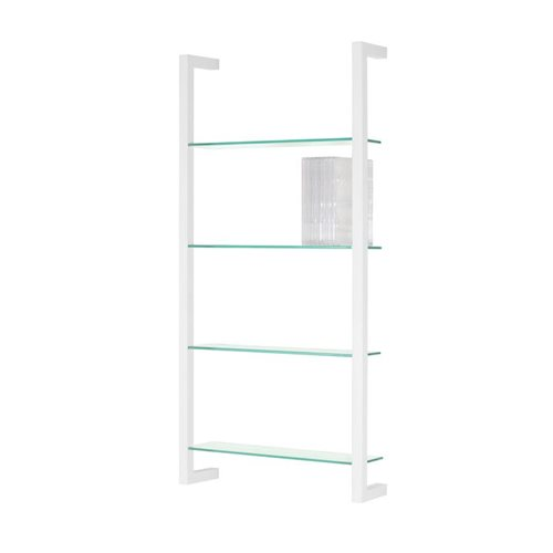 Spinder Design Cubic Wall rack with 4 Shelves - White