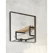 Spinder Design Donna 2 Spiegel Vierkant 60x60x5 - Blacksmith