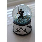 Rotary Hero Snow Globe - Ninja with Sound