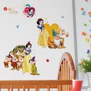 Walplus Kids Decoration Sticker - Disney Snow White and the Seven Dwarfs