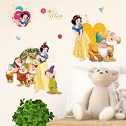 Walplus Kids Decoration Sticker - Disney Snow White and the Seven Dwarfs