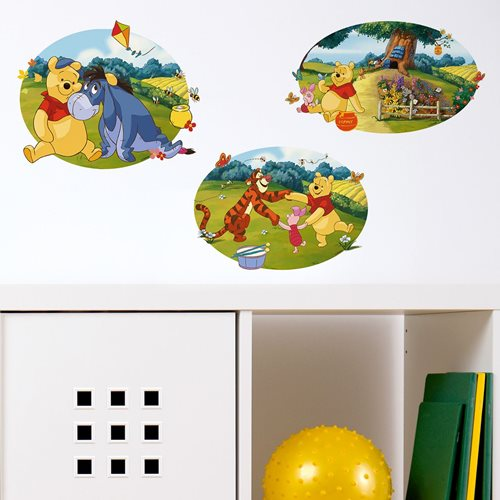 Walplus Kids Decoration Sticker - Disney Winnie the Pooh & Friends