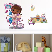 Walplus Kids Decoration Sticker - Disney Doc McStuffin Hospital