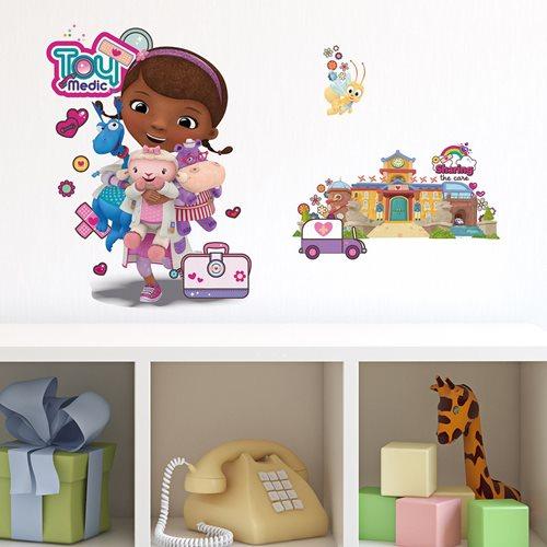 Walplus Kinder Dekoration Wandaufkleber - Disney Doc McStuffin und Krankenhaus