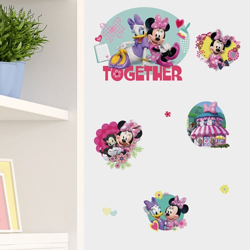 Walplus Kids Decoration Sticker - Disney Minnie & Daisy