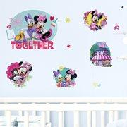 Walplus Kids Decoration Sticker - Disney Minnie & Daisy