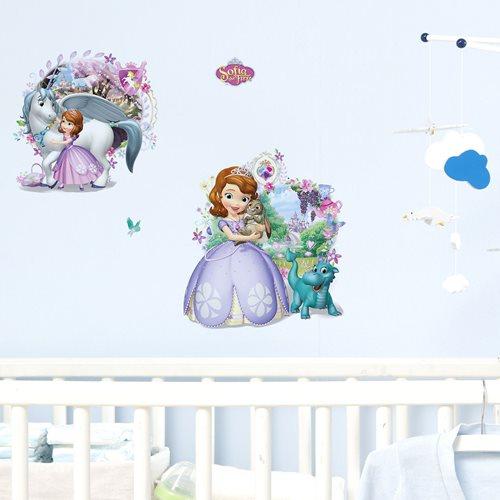 Walplus Kids Decoratie Sticker - Disney Sophia het Prinsesje