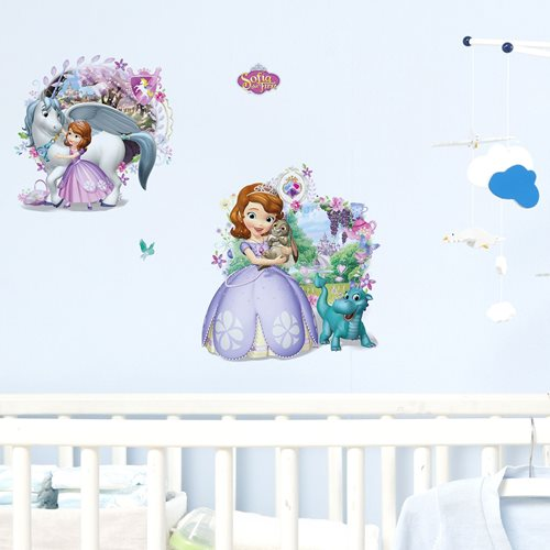 Walplus Kinder Dekoration Wandaufkleber - Disney Sofia the First