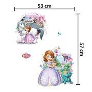 Walplus Kids Decoration Sticker - Disney Sofia the First