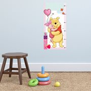 Walplus Kids Decoration Sticker - Disney Winnie Height Measure