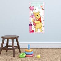 Walplus Kids Decoration Sticker - Disney Winnie Height Measure