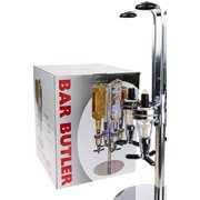 United Entertainment Bar Butler 4 Shot Dispenser Carousel with LED Lights