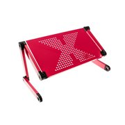United Entertainment Multifunctional Laptop Stand - Dark Pink