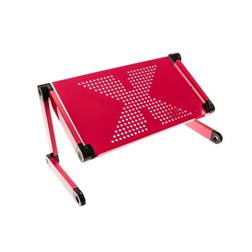 United Entertainment Multifunctionele Laptop Standaard - Roze