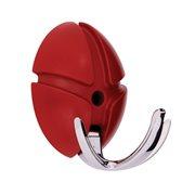 Spinder Design Tick Kapstok met Metalen Haak - Rood