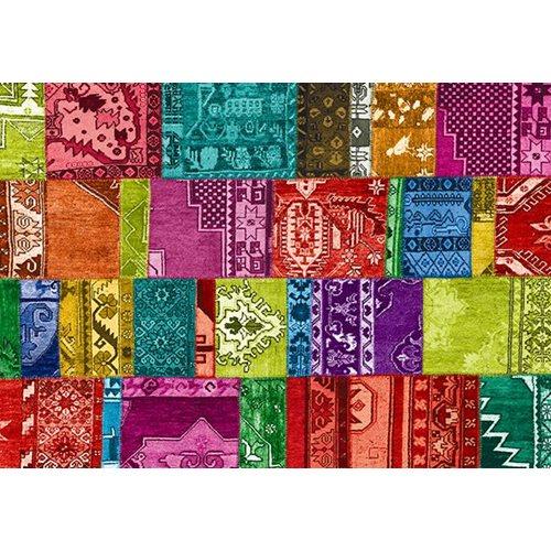 Exclusive Edition Tapijt Modern 4 – Turks Patchwork – Multi Kleur