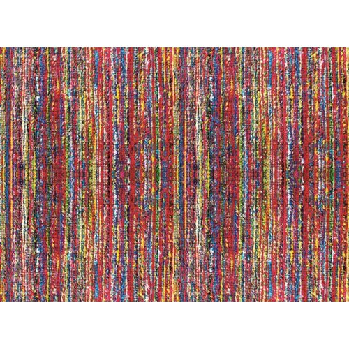 Exclusive Edition Carpet Coloured Lines – Patchwork Textiles – Multi Colour