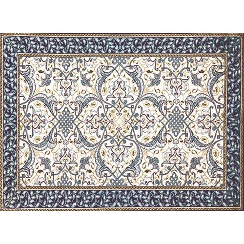 Exclusive Edition Carpet Classic with Band – Millenium – Blue-Grey