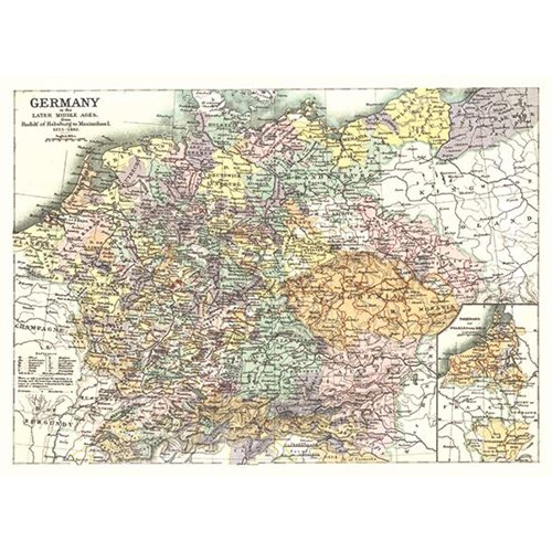 Exclusive Edition Carpet Map Germany – World Maps