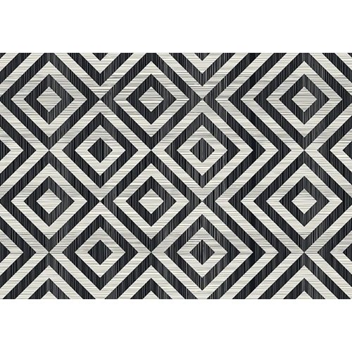 Exclusive Edition Carpet Pattern Diamond – Graphics – Black-Grey