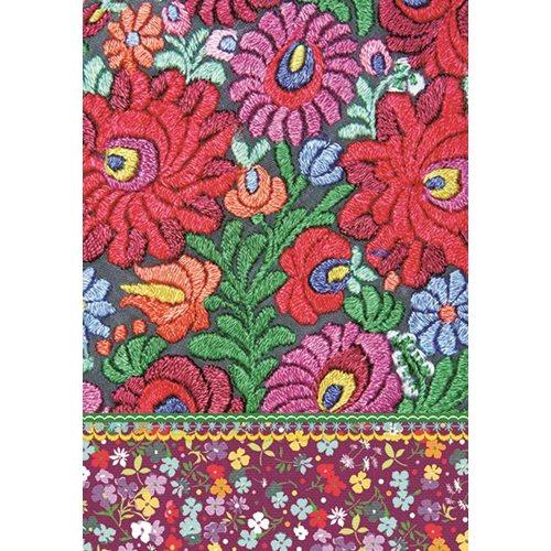 Exclusive Edition Teppich Muster - Blume - Shabby 05 - Multi Farbe