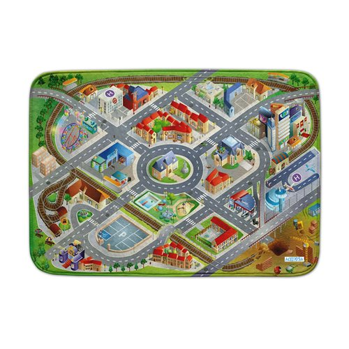 ACHOKA Play mat District - Ultra Soft Connect