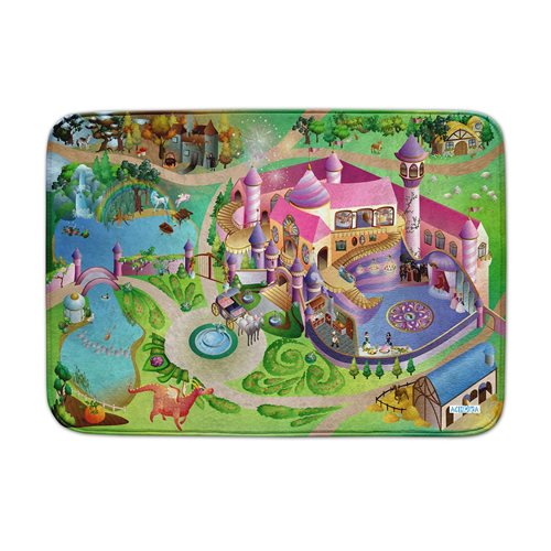 ACHOKA Play mat Princess Castle - Ultra Soft Connect