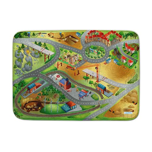 ACHOKA Play mat Building City - Ultra Soft Connect