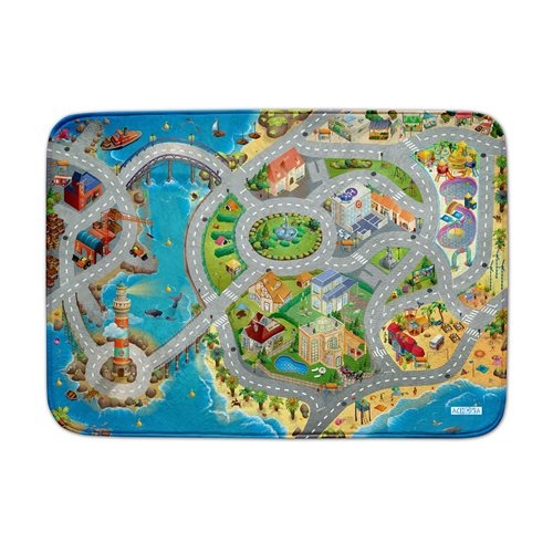 ACHOKA Play mat Seaside - Ultra Soft Connect