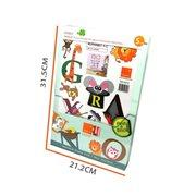 Walplus Kids Decoratie Sticker - Dieren Alfabet
