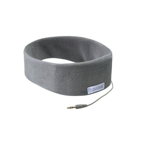 SleepPhones® Classic v6 Fleece Soft Gray - Large/Extra Large