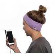 SleepPhones® Classic Fleece Quiet Lavender - Large/Extra Large