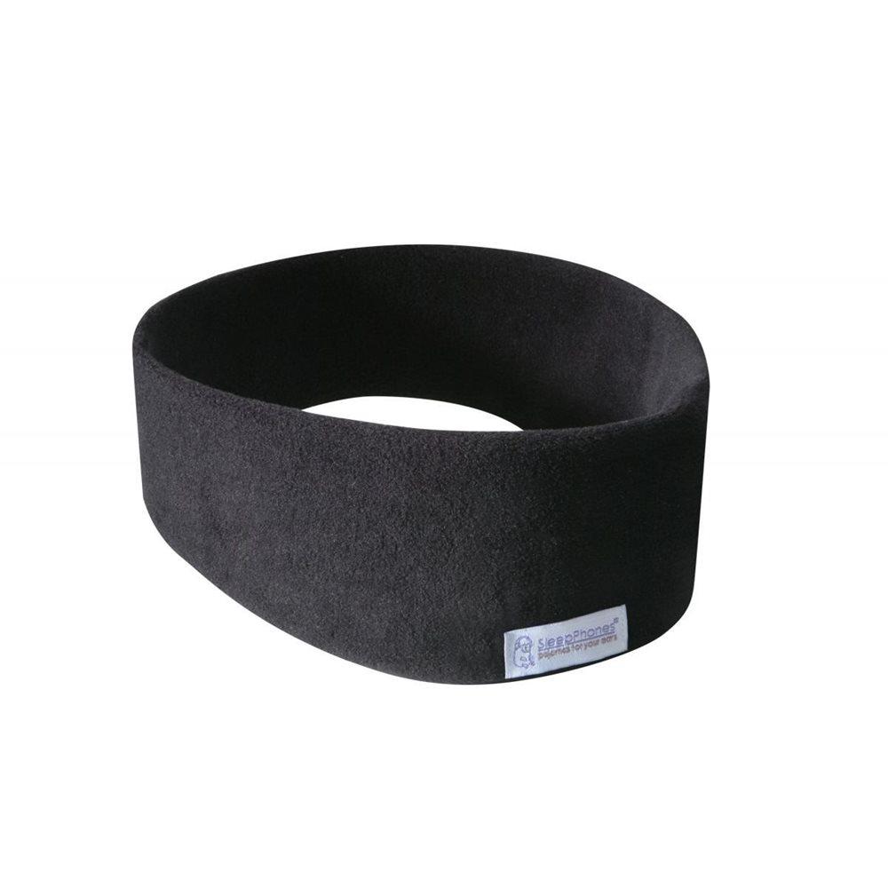 SleepPhones® Wireless Fleece Schwarz - Large/Extra Large