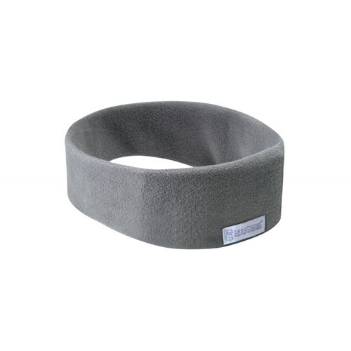 SleepPhones® Draadloos Fleece Soft Gray/Grijs - Medium