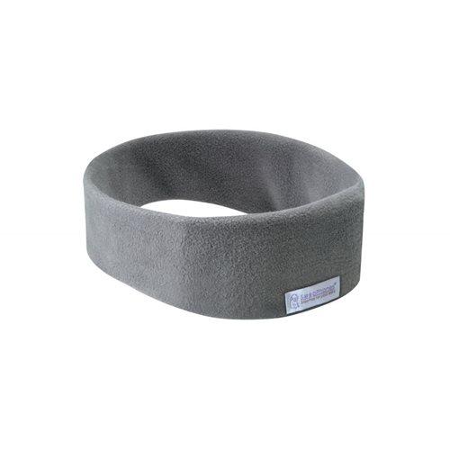 SleepPhones® Draadloos Fleece Soft Gray/Grijs - Small/Extra Small