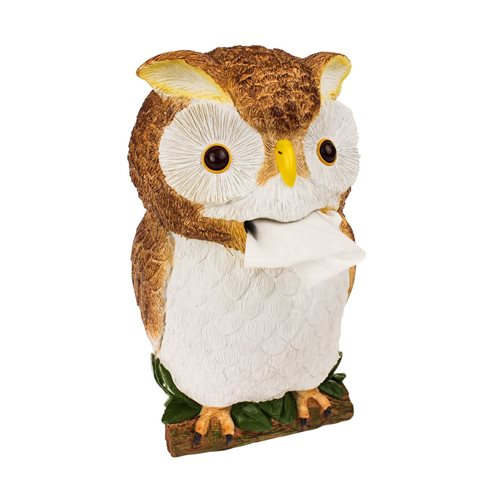 Rotary Hero Owl Tissue box Holder