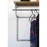 Spinder Design Rizzoli Garderobe - Schmiedeeisern/Eiche